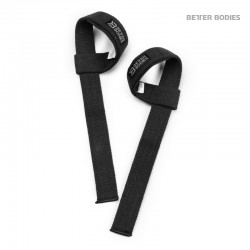 BB Lifting Straps - Black