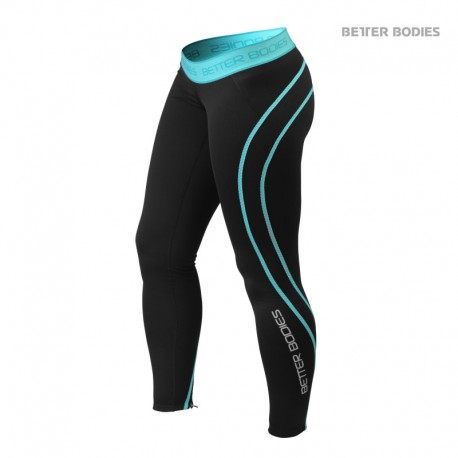 BB Athlete Tights - Aqua