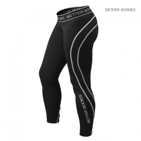BB Athlete Tights - Black Grey