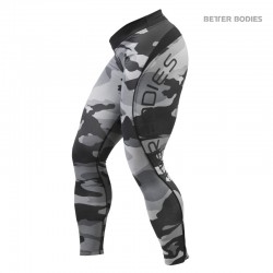 BB Camo Long Tights - Grey