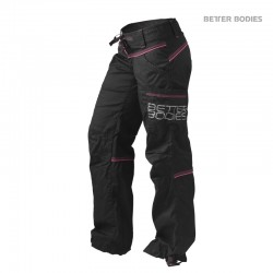BB Contrast Windpant - Black Pink