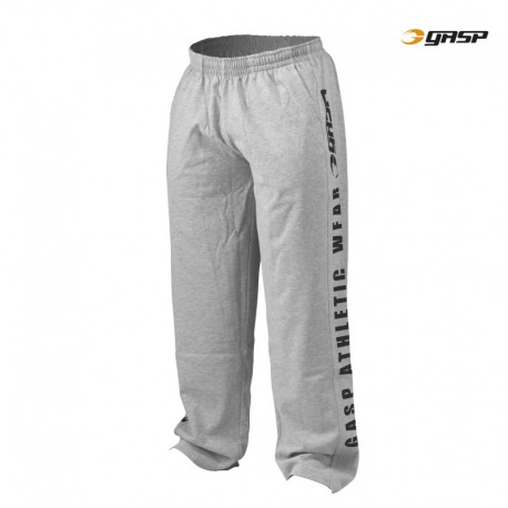 Gasp Jersey Training Pant - Grey