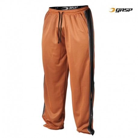 Gasp Mesh Panel Pants - Flame