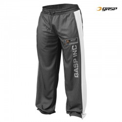Gasp No1 Mesh Pant - Black White