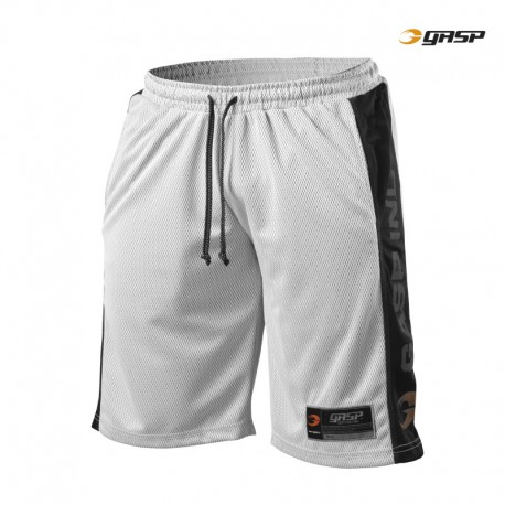 Gasp No1 Mesh Shorts - Black White