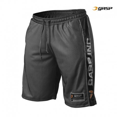 Gasp No1 Mesh Shorts - Black