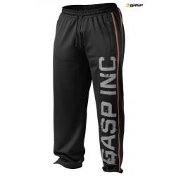 Gasp Printed Mesh Pant - Black