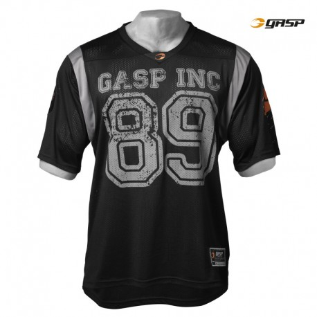 Gasp No1 Football Tee - Black