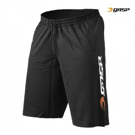 Gasp US Mesh Training Shorts - Black