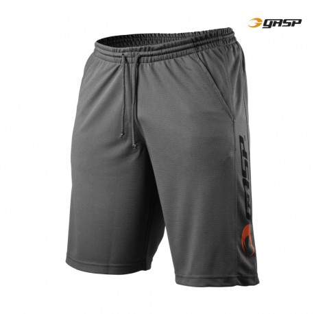Gasp US Mesh Training Shorts - Grey