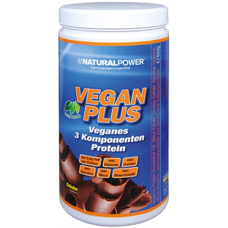 Natural Power Vegan Plus - 500g