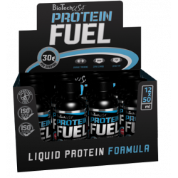 Protein Fuel Liquid - 12 Flaschen
