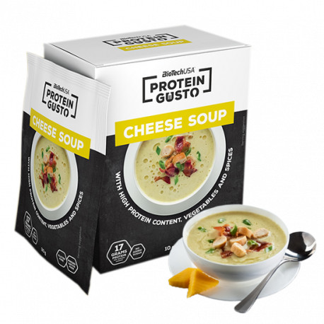 Protein Gusto Cheese Soup - 10er Pack