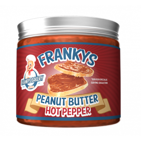Peanut Butter Hot Pepper - 450g