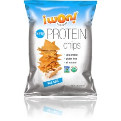 iWON! Proteinchips - Sea Salt 52g